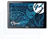 Bruni Schutzfolie kompatibel mit Acer Aspire Switch Alpha 12 Folie, glasklare Bildschirmschutzfolie (2X)