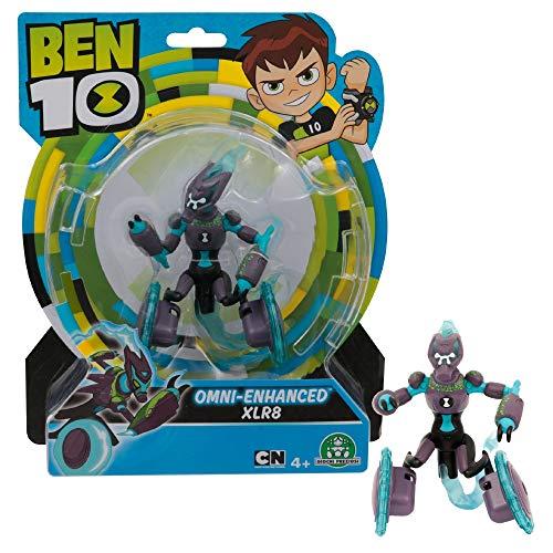 Giochi Preziosi- Ben 10 Omni Enhanced XLR8 Personaggio Base, Multicolore, 13 cm, BEN35E20