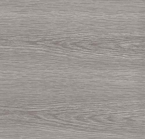 Lámina adhesiva Madera de pino gris, lámina decorativa, lámina para muebles, lámina autoadhesiva, aspecto madera natural, 45 cm x 3 m, grosor: 0,095 mm, Venilia 53159