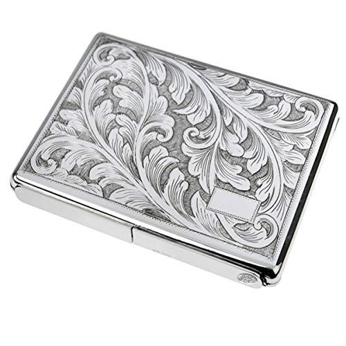 silberkanne Zigarettenetui Florenz 8x11X1,5 cm Silber 925 Sterling ca. 154 Gramm in Premium Verarbeitung