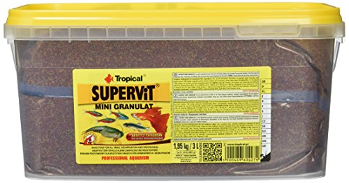 TROPICAL Supervit Mini Granulat Nourriture pour Aquariophilie 3 L