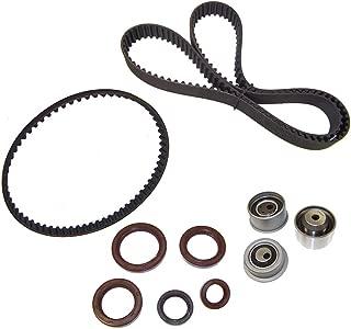 DNJ TBK107 Timing Belt Kit for 1989-1995 / Eagle, Hyundai, Mitsubishi, Plymouth/Eclipse, Elantra, Galant, Laser, Sonata, Talon / 1.8L, 2.0L / DOHC / 16V / 122cid, 1836cc, 1997cc / 4G63, 4G63T