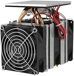WOVELOT 12V 120W Kit De Sistema De Enfriamiento De Refrigeración Termoeléctrica Peltier Refrigerador De Semiconductores Radiador Grande Conducción Fría