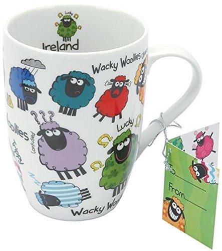 Dublin Gift 3148D Wacky Woollies Keramiktasse