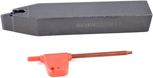 """popular 1PCS Shank Diameter 0.79"""" (2020 mm) SVVBN 2020K11 CNC Lathe Indexable Carbide Excircle Turning Tool Holder discount , popular Overall length 5"""" (125 mm) outlet online sale"""