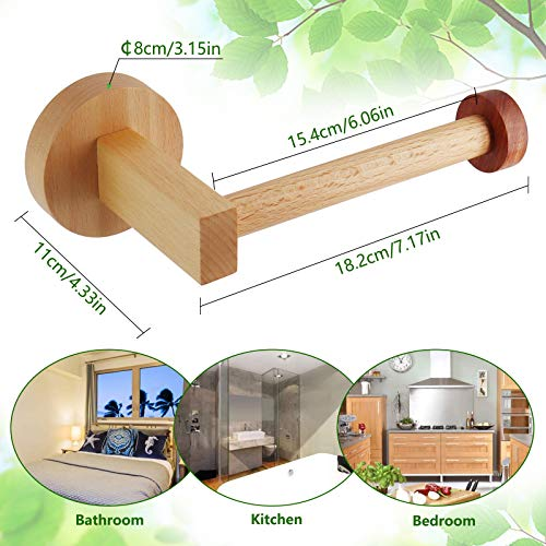 HONZUEN HE EU Wood Paper Holder