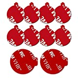 10 Pack 3M Sticky Adhesive Replacement Compatible with Socket Mount Base, VOLPORT VHB Sticker Pads for Car...