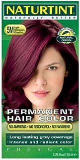 Naturtint Permanent Hair Color - 5M Light Mahogany Chestnut, 5.28 fl oz (6-pack) by Naturtint
