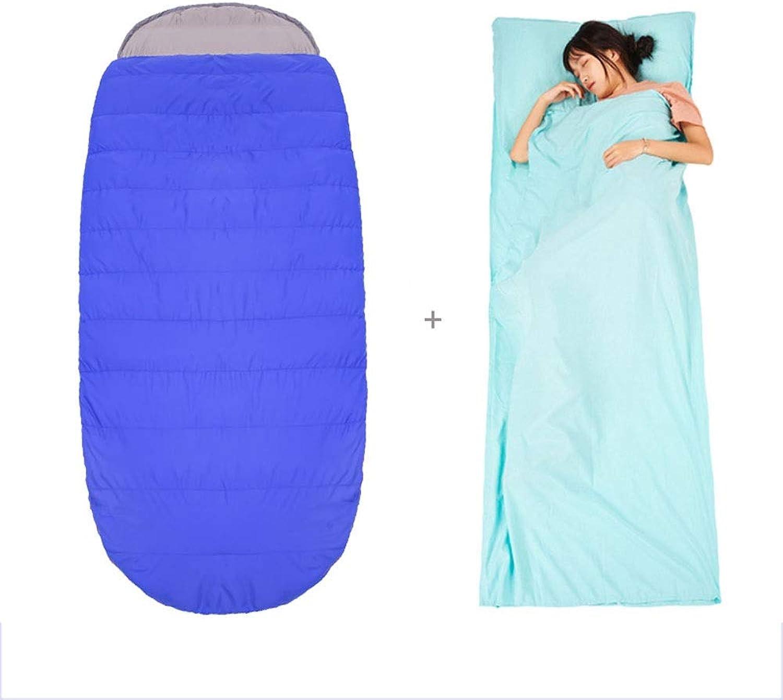 ZCF Leichte Mumienschlafscke; ideal zum Wandern, Wandern und Camping; kostenlose Kompressionsbeutel (Größe   B)