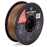 HATCHBOX ABS 3D Printer Filament, Dimensional Accuracy +/- 0.03 mm, 1 kg Spool, 1.75 mm, Copper