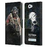 Head Case Designs Offizielle Tom Clancy's Ghost Recon Breakpoint Nomade Darsteller Kunst Leder Brieftaschen Huelle kompatibel mit Wileyfox Spark/Plus