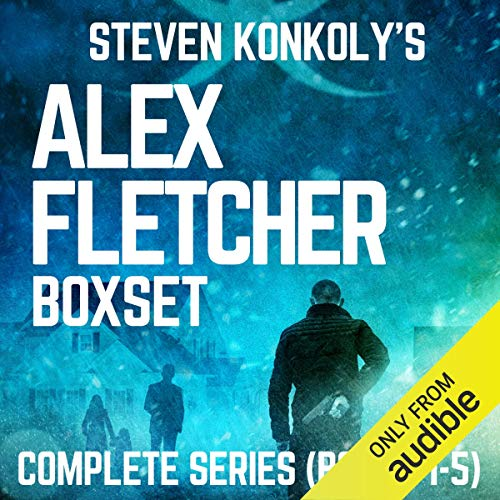 Alex Fletcher Boxset, Complete Series Books 1-5 cover art