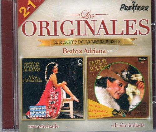 BEATRIZ ADRIANA VOL.2 (EDICION LIMITADA) 2 EN 1 'LOS ORIGINALES PEERLESS,EL RESCATE DE LA BUENA MUSICA.