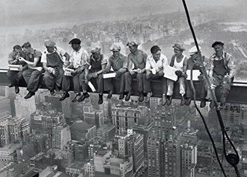 1art1 New York - Mittagspause Auf Einem Wolkenkratzer, 1932 Poster 91 x 61 cm