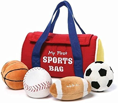 Gund My First Sports Bag Playset by Gund Fun