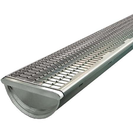 HaGa/® Dachrinnenschutz Laubfang Laubstopp 100mm-125mm 1m lang in schwarz