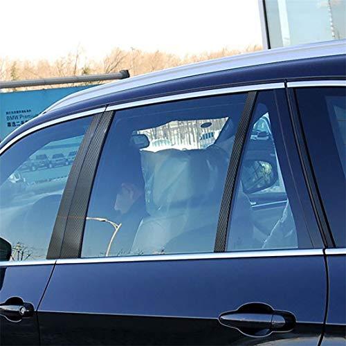 Tangminyidi Powerball, Carbon-Faser-Auto-B Spalt dekorative Aufkleber for BMW E90 2005-2012, löst Verspannungen und trainiert Handgelenke sowi