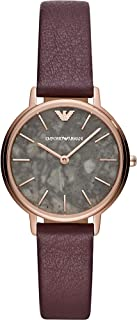 Emporio Armani Women's Two-Hand Silver-Tone Stainless Steel Watch AR11172