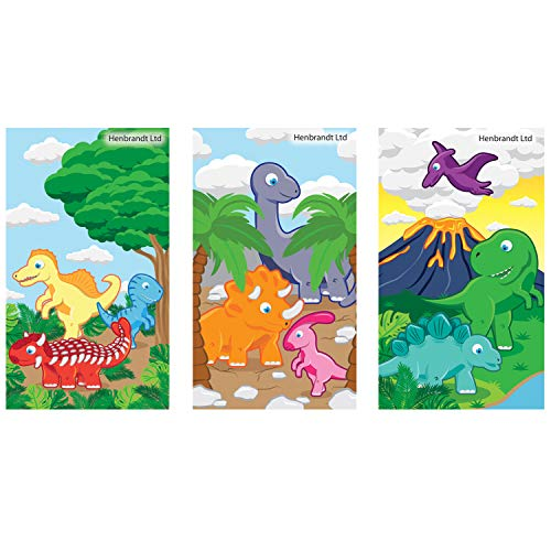 6 Dinosaures Bloc-notes Pochette Surprise