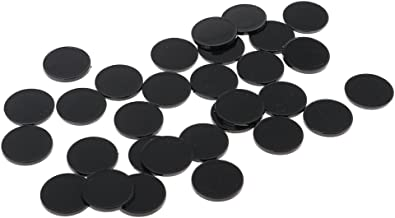 MagiDeal 30pcs Plastic Round Model Bases 22mm for Warhammer 40k Miniature RPG Wargame