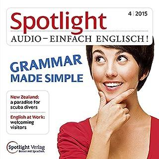 Spotlight Audio - Grammar made simple. 4/2015 Titelbild