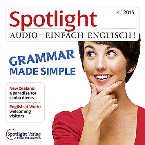 Spotlight Audio - Grammar made simple. 4/2015 Titelbild