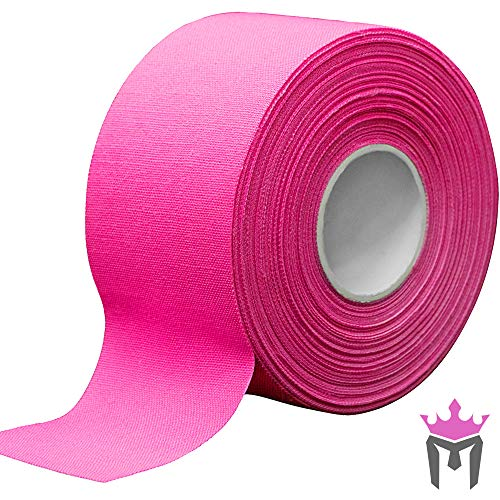 15Yd x 15quot Meister Premium Athletic Trainer#039s Tape for Sports and Medical 50% Longer  Pink  1 Roll