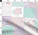 Blumen, Lavendel, Lila, Blumenmotiv, Baby, Kinderzimmer,