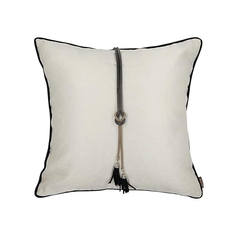 困惑したペニー模索CSQ枕 四角い枕、白い綿の柔らかいクッション洗えるクッションヴィラホテルのホームデコレーションピローサイズ:45 * 45CM 寝具 (Color : White, Size : 45*45CM)