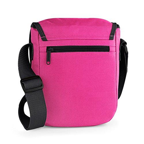 Praktische Damen Umhängetasche! Schultertasche, Reportertasche für Handy, Geldbörse, Kamera.! Mit Veri Logo