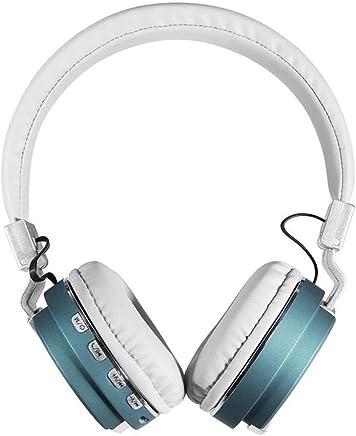 Auricolari Bluetooth Cuffie Cuffie senza fili Bluetooth + Funzione MP3 2in1, Cuffie stereo senza fili Heavy Bass (Color : Blue) - Trova i prezzi più bassi