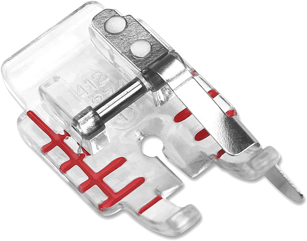 ANTILIA 4129274-45 Clear Plastic 1 Max 47% OFF 4 Quilting latest Presser Foot inch