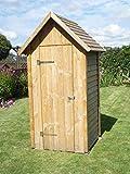 Bella Garden, Toilettenhaus Spitzdach, Gartenhaus, Geräteschuppen