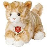 Hermann Teddy Collection 906971 - Plüsch-Katze, 24 cm, rot getigert