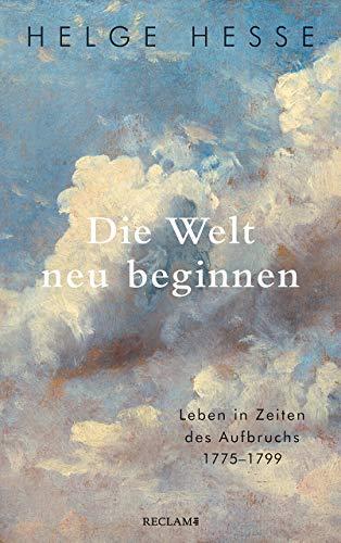 Buchseite und Rezensionen zu 'Die Welt neu beginnen' von Helge Hesse