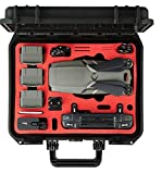 Professional Carrying Case for DJI Mavic 2 Pro or Zoom with Smart Controller - Compact Edition - by MC-CASES - Made in Germany