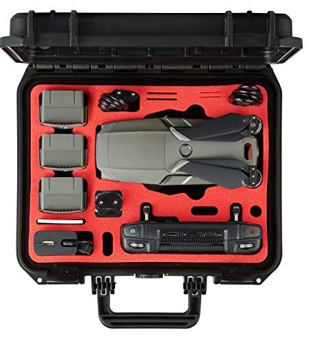 MC-CASES Valigetta per DJI Mavic 2 Pro/Zoom e DJI Smart Controller - Edizione compatta – Prodotta in Germania - Estremamente stabile