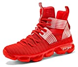 JMFCHI Kid's Basketball Shoes High-top Sports Shoes Sneakers Durable Lace-up...