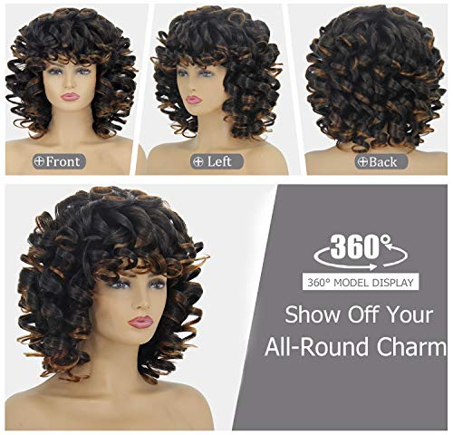 Short curly hair wigs _image2