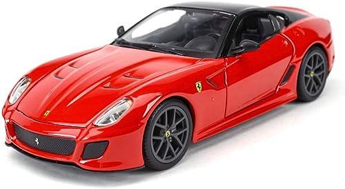 ventas de salida Maisto Simulación Exquisitas dietas y vehículos de Juguete  Ferrari Ferrari Ferrari 599 GTO Car Styling Supercar 1 24 Alloy Diecast Car Modelo Toy Car Modelos Escala Vehículos ( Color   rojo )  sin mínimo