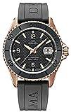 DELMA 407016 - Orologio sportivo da uomo, analogico, automatico, cinturino in caucciù