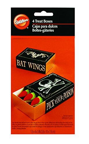 Wilton 4-Piece Pick Your Poison Assorted Slide Favour Box