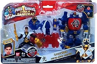 Power Rangers Samurai Vehicle Action Figure LightZord Super Mega Ranger Antonio