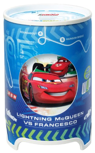 Dalber 60580 Cars 2 - Lámpara LED infantil para mesilla de noche