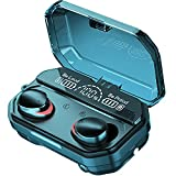True Wireless Earbuds Bluetooth 5.1 Headphones Noise Cancelling with Charging Case HiFi Stereo Earbuds Built-in Mic IPX7 Waterproof in-Ear Headphones for Apple/iPhone/Android/Samsung/Sports Ear Buds