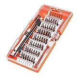 Juego de Destornilladores, 60 en 1 S2 Acero Destornilladores Precisión, Kit Destornilladores...
