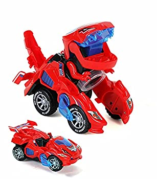 Dinosaur Toys for Kids 3-5,Automatic Dino Transformers Toys 2 in 1 Dinosaur Toy Cars for Kids Boy Toys ,Dino Toy Cars Christmas Birthday Gifts for Toddlers Boys Girls