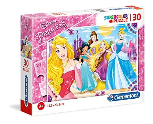 Disney Princesas Puzzle 30 Piezas (Clementoni 08503)