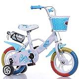 LHY RIDING Kinderfahrrad 12-Zoll-Fahrrad Walker Geeignet für Kinder über 3 Jahre alt mit...