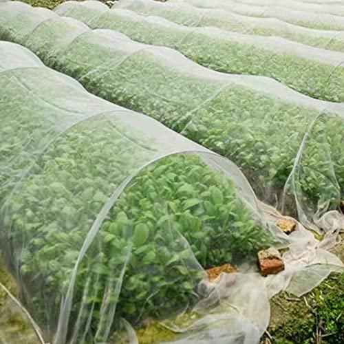 Rete Anti-insetti,Rete di Insetti per Verdure,Protezione da Insetti a Maglia fine,Rete Anti-Insetti per Piante,Rete da Giardino Usato per Proteggere Piante,Fiori,Frutta e Verdura,Anti-Uccelli(3*6m)